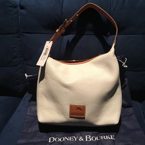 Dooney & Bourke White Paige Sac Perfect coloring!